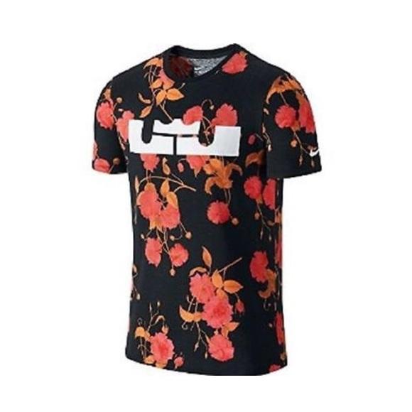 "sports shoes c0731 53d76 Nike LeBron James ""Easter"" T-shirt"